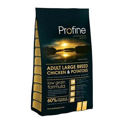 Profine Adult Large Breed Chicken&Potatoes 15 kg