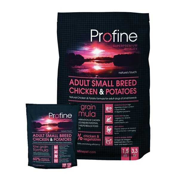 Profine Adult Small Breed Chicken&Potatoes 1,5 kg