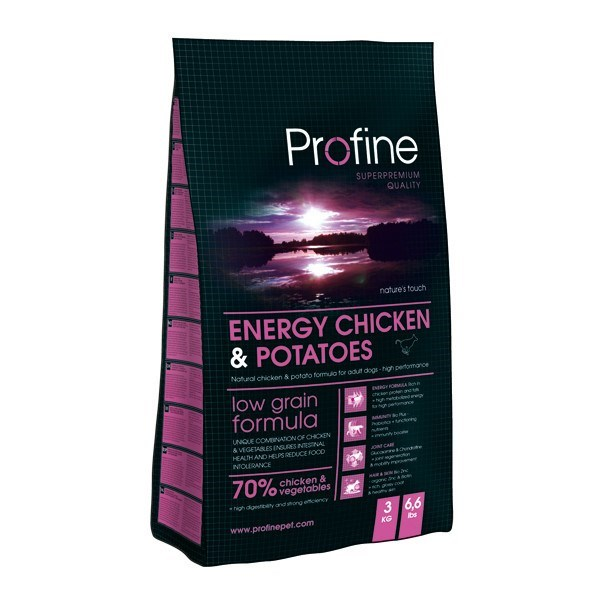 Profine Energy Chicken&Potatoes 15 kg