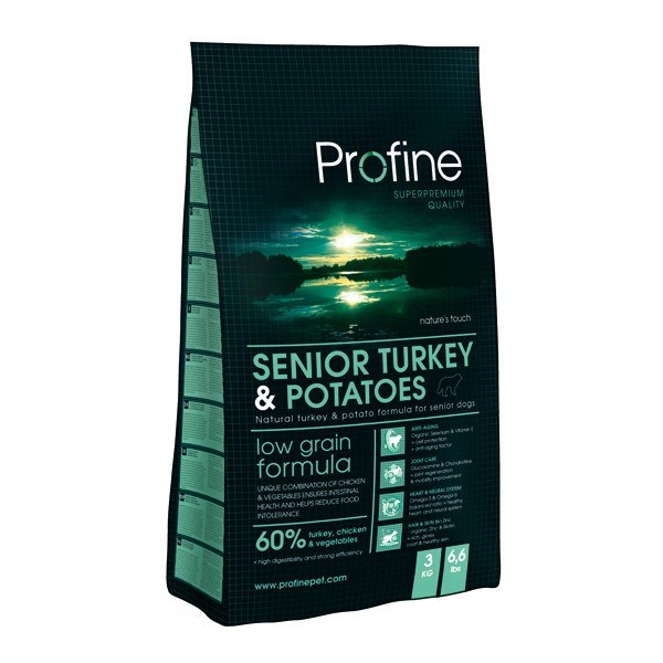 Profine Senior Turkey&Potatoes 15 kg